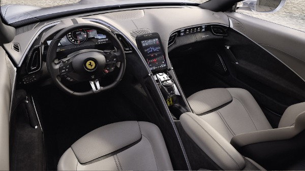 New 2021 Ferrari Roma for sale Call for price at Pagani of Greenwich in Greenwich CT 06830 5