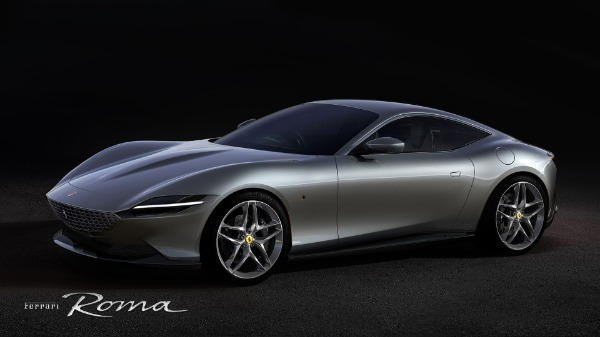 New 2020 Ferrari Roma for sale Call for price at Pagani of Greenwich in Greenwich CT 06830 1