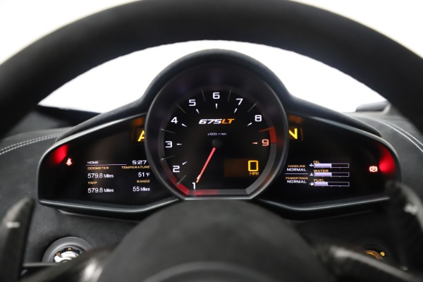Used 2016 McLaren 675LT COUPE for sale $245,900 at Pagani of Greenwich in Greenwich CT 06830 22