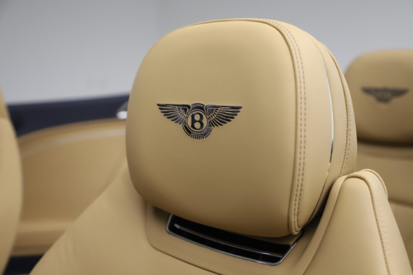 New 2020 Bentley Continental GT Convertible V8 for sale Sold at Pagani of Greenwich in Greenwich CT 06830 27