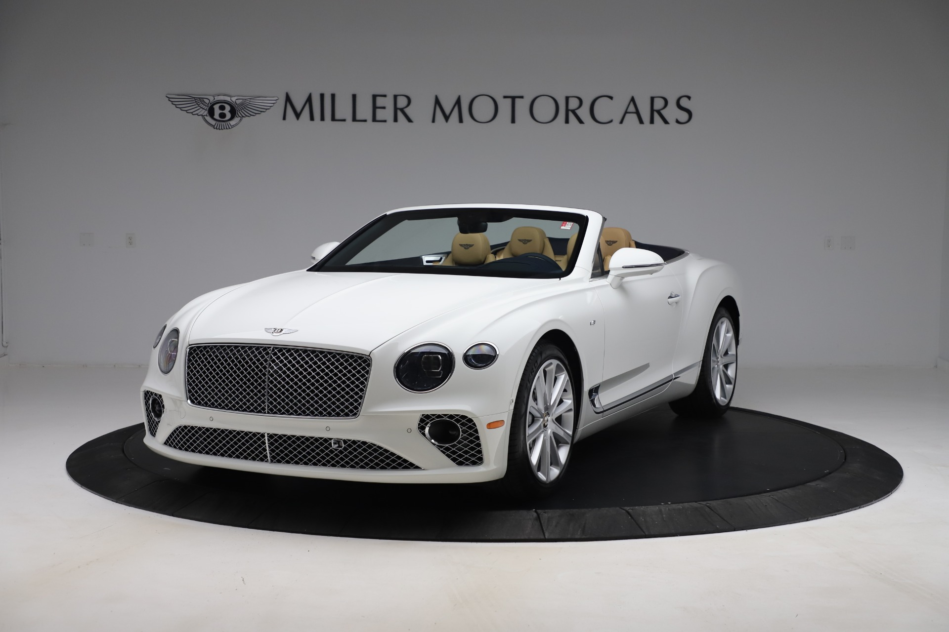 New 2020 Bentley Continental GT Convertible V8 for sale Sold at Pagani of Greenwich in Greenwich CT 06830 1