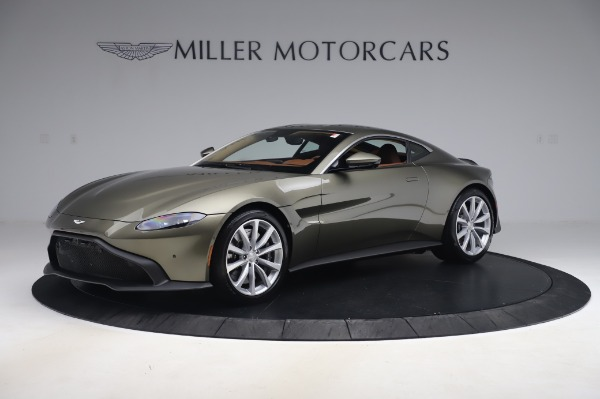New 2020 Aston Martin Vantage Coupe for sale $180,450 at Pagani of Greenwich in Greenwich CT 06830 1