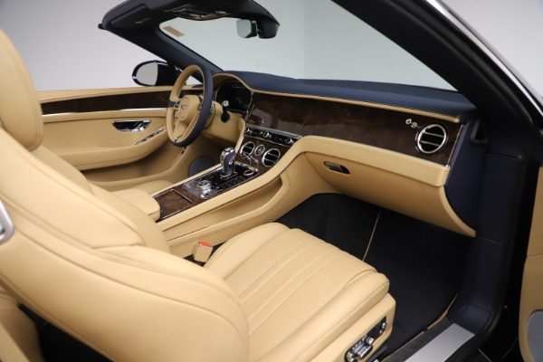New 2020 Bentley Continental GTC V8 for sale $262,475 at Pagani of Greenwich in Greenwich CT 06830 27
