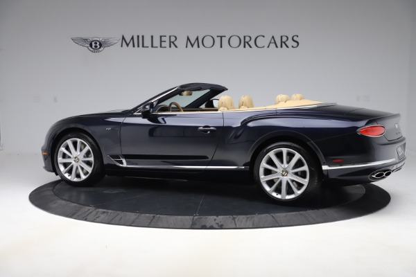 New 2020 Bentley Continental GTC V8 for sale $262,475 at Pagani of Greenwich in Greenwich CT 06830 3