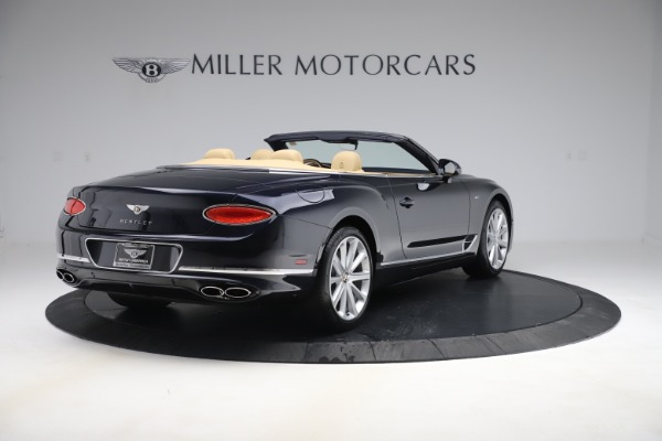 New 2020 Bentley Continental GTC V8 for sale $262,475 at Pagani of Greenwich in Greenwich CT 06830 6