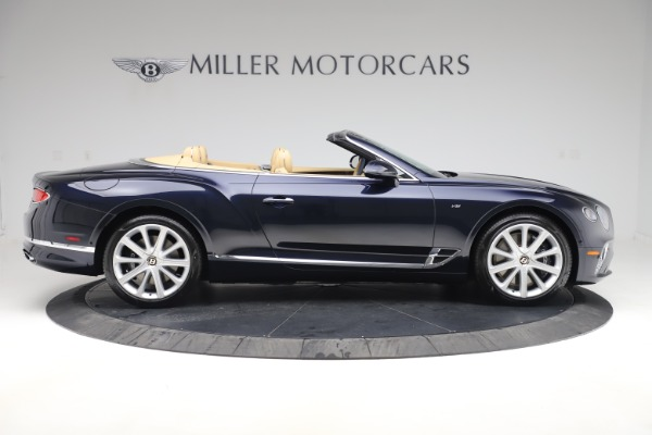 New 2020 Bentley Continental GTC V8 for sale $262,475 at Pagani of Greenwich in Greenwich CT 06830 8
