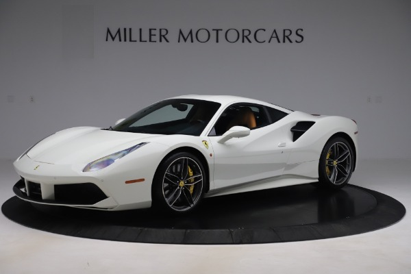 Used 2017 Ferrari 488 GTB for sale $244,900 at Pagani of Greenwich in Greenwich CT 06830 1