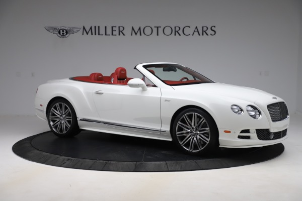 Used 2015 Bentley Continental GTC Speed for sale Sold at Pagani of Greenwich in Greenwich CT 06830 10