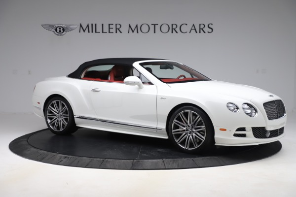 Used 2015 Bentley Continental GTC Speed for sale Sold at Pagani of Greenwich in Greenwich CT 06830 18
