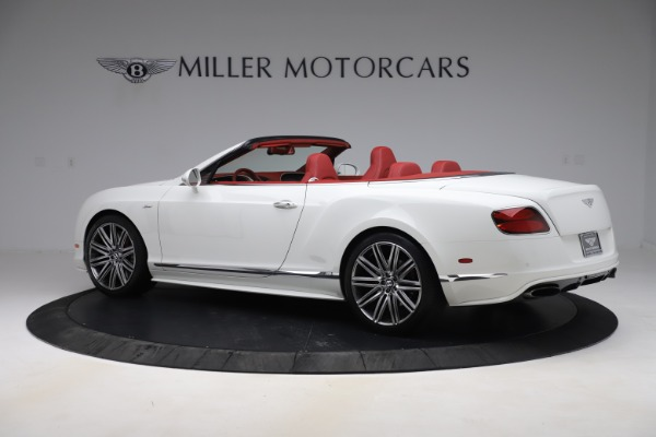 Used 2015 Bentley Continental GTC Speed for sale $125,900 at Pagani of Greenwich in Greenwich CT 06830 4