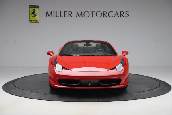 Used 2015 Ferrari 458 Spider for sale Sold at Pagani of Greenwich in Greenwich CT 06830 12