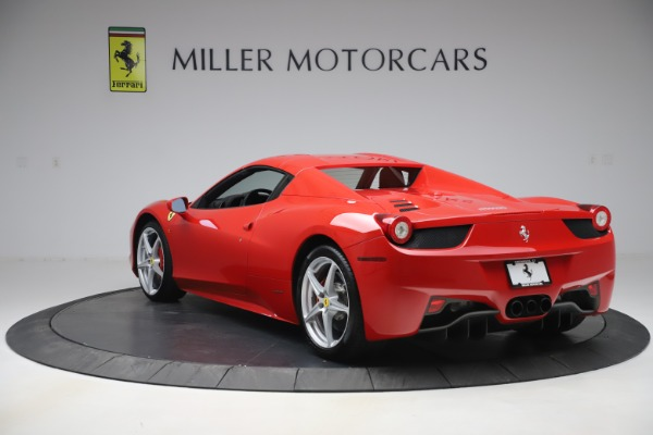 Used 2015 Ferrari 458 Spider for sale Sold at Pagani of Greenwich in Greenwich CT 06830 15