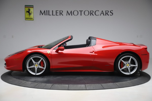 Used 2015 Ferrari 458 Spider for sale Sold at Pagani of Greenwich in Greenwich CT 06830 3
