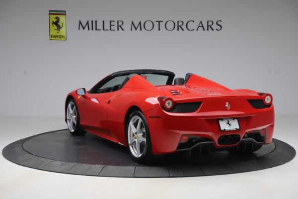 Used 2015 Ferrari 458 Spider for sale Sold at Pagani of Greenwich in Greenwich CT 06830 5