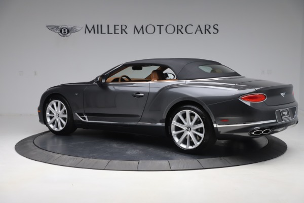 New 2020 Bentley Continental GTC V8 for sale $266,665 at Pagani of Greenwich in Greenwich CT 06830 18