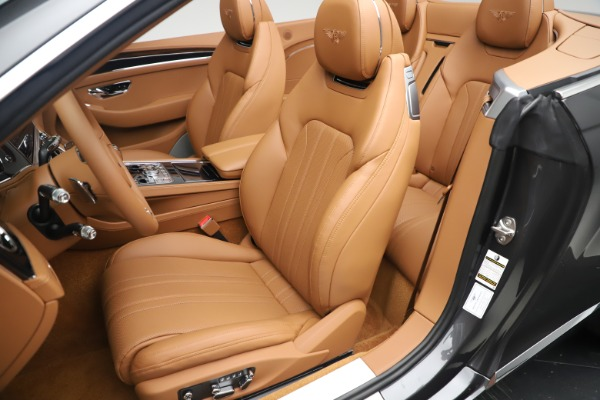 New 2020 Bentley Continental GTC V8 for sale $266,665 at Pagani of Greenwich in Greenwich CT 06830 27