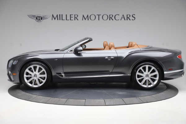 New 2020 Bentley Continental GTC V8 for sale $266,665 at Pagani of Greenwich in Greenwich CT 06830 3