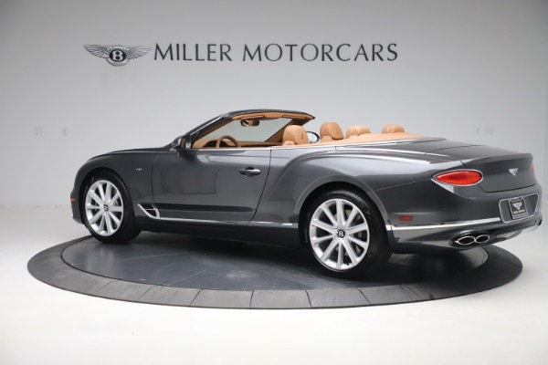 New 2020 Bentley Continental GTC V8 for sale $266,665 at Pagani of Greenwich in Greenwich CT 06830 4