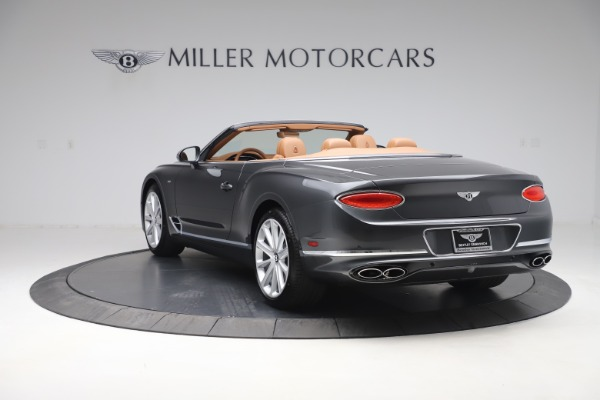 New 2020 Bentley Continental GTC V8 for sale $266,665 at Pagani of Greenwich in Greenwich CT 06830 5