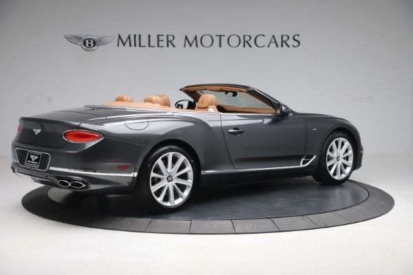 New 2020 Bentley Continental GTC V8 for sale $266,665 at Pagani of Greenwich in Greenwich CT 06830 8