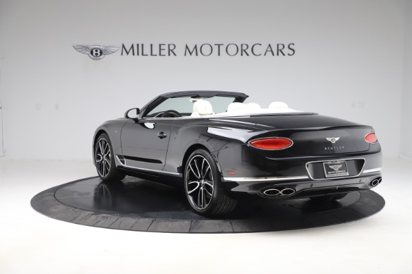 New 2020 Bentley Continental GTC V8 for sale $275,900 at Pagani of Greenwich in Greenwich CT 06830 5