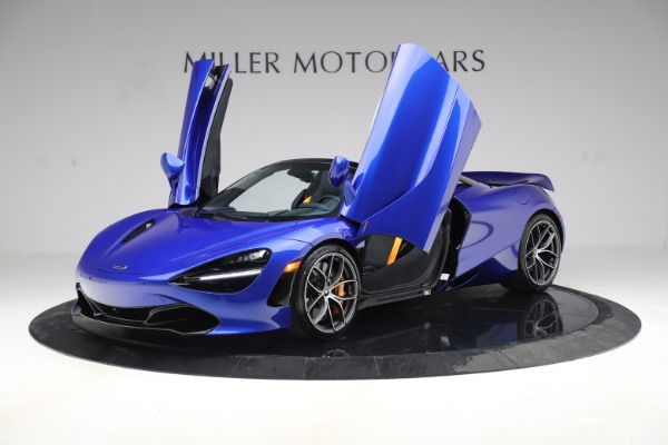 New 2020 McLaren 720S Spider Convertible for sale $364,090 at Pagani of Greenwich in Greenwich CT 06830 10
