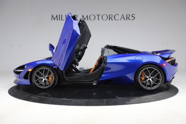 New 2020 McLaren 720S Spider Convertible for sale $364,090 at Pagani of Greenwich in Greenwich CT 06830 11