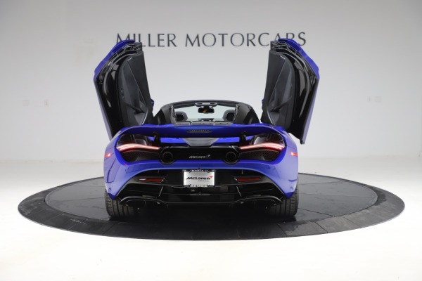 New 2020 McLaren 720S Spider Convertible for sale $364,090 at Pagani of Greenwich in Greenwich CT 06830 13