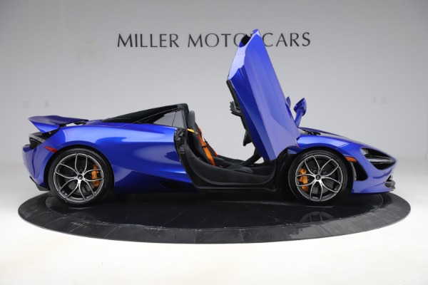 New 2020 McLaren 720S Spider Convertible for sale $364,090 at Pagani of Greenwich in Greenwich CT 06830 15