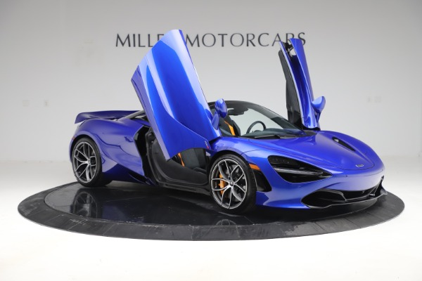 New 2020 McLaren 720S Spider Convertible for sale $364,090 at Pagani of Greenwich in Greenwich CT 06830 16