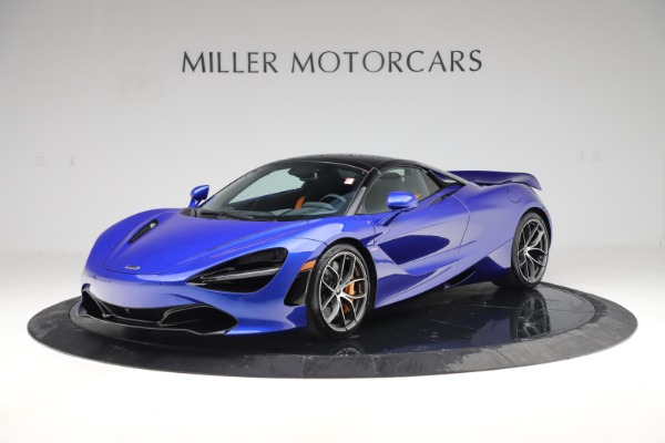 New 2020 McLaren 720S Spider Convertible for sale $364,090 at Pagani of Greenwich in Greenwich CT 06830 18