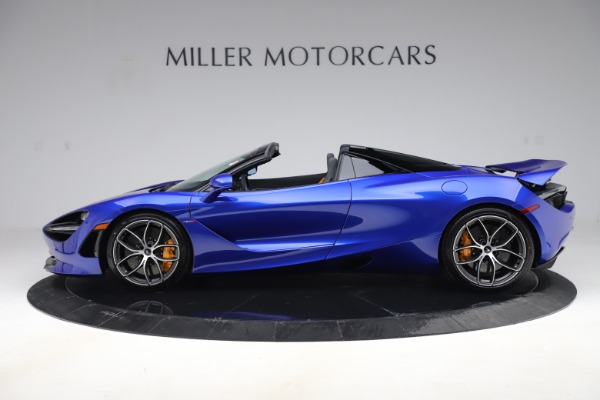 New 2020 McLaren 720S Spider Convertible for sale $364,090 at Pagani of Greenwich in Greenwich CT 06830 2