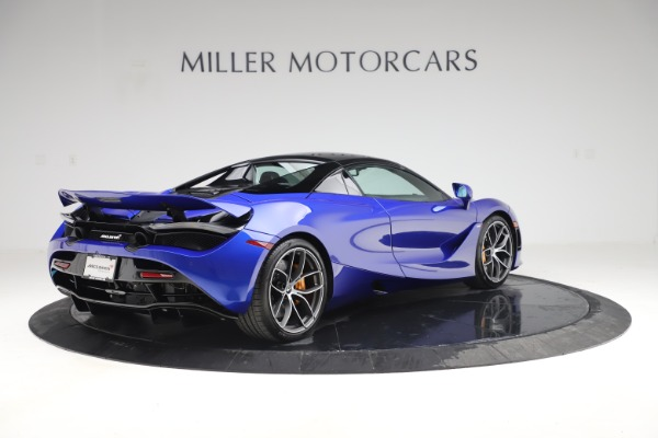 New 2020 McLaren 720S Spider for sale Sold at Pagani of Greenwich in Greenwich CT 06830 22