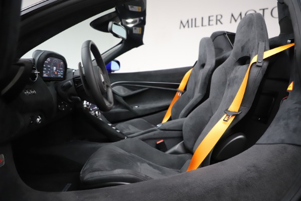 New 2020 McLaren 720S Spider for sale Sold at Pagani of Greenwich in Greenwich CT 06830 28