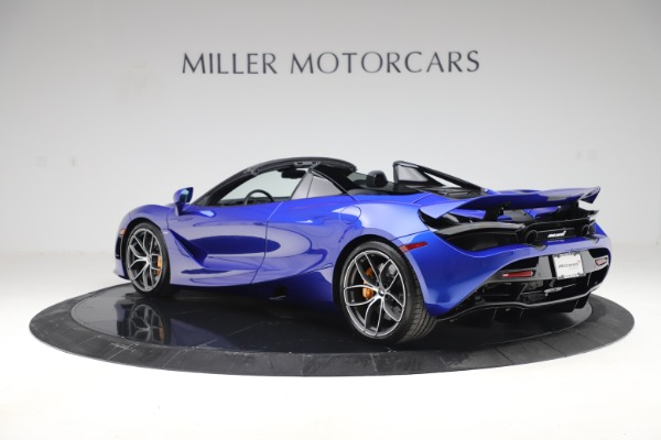 New 2020 McLaren 720S Spider Convertible for sale $364,090 at Pagani of Greenwich in Greenwich CT 06830 3