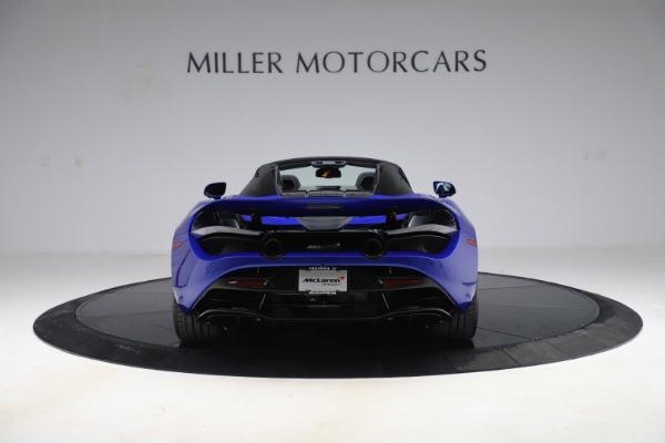 New 2020 McLaren 720S Spider Convertible for sale $364,090 at Pagani of Greenwich in Greenwich CT 06830 4