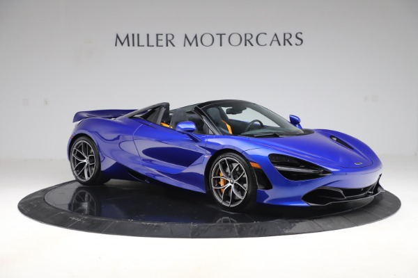 New 2020 McLaren 720S Spider Convertible for sale $364,090 at Pagani of Greenwich in Greenwich CT 06830 7