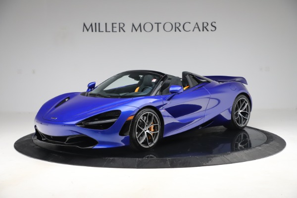 New 2020 McLaren 720S Spider Convertible for sale $364,090 at Pagani of Greenwich in Greenwich CT 06830 1