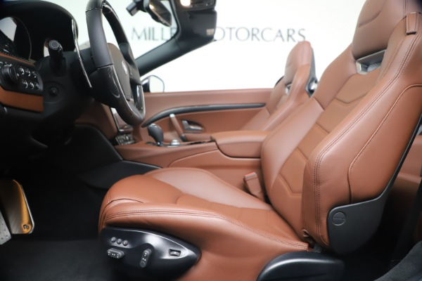 New 2019 Maserati GranTurismo Sport Convertible for sale Sold at Pagani of Greenwich in Greenwich CT 06830 20