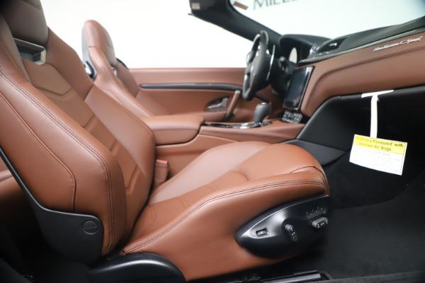 New 2019 Maserati GranTurismo Sport Convertible for sale Sold at Pagani of Greenwich in Greenwich CT 06830 27