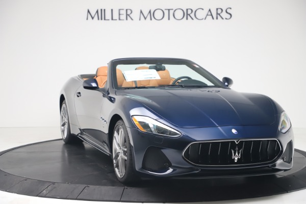 New 2019 Maserati GranTurismo Sport Convertible for sale $172,060 at Pagani of Greenwich in Greenwich CT 06830 11