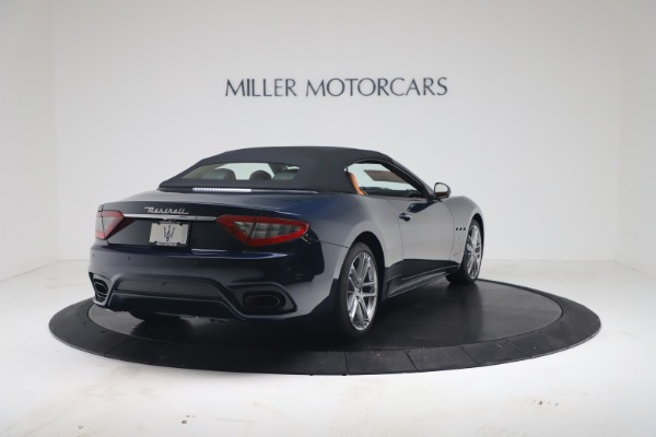 New 2019 Maserati GranTurismo Sport Convertible for sale $172,060 at Pagani of Greenwich in Greenwich CT 06830 16