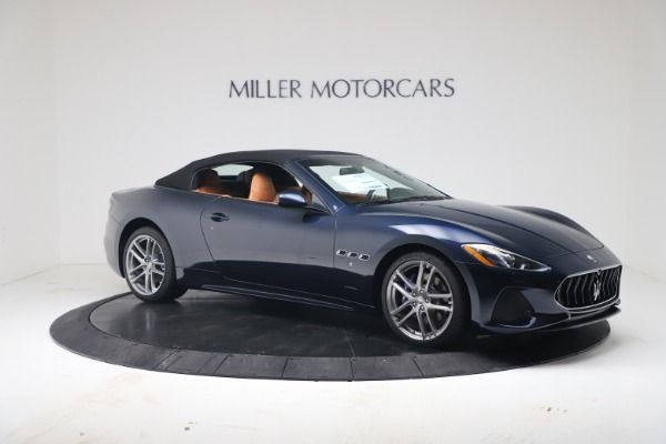 New 2019 Maserati GranTurismo Sport Convertible for sale $172,060 at Pagani of Greenwich in Greenwich CT 06830 18