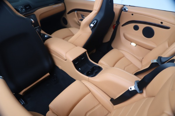 New 2019 Maserati GranTurismo Sport Convertible for sale $172,060 at Pagani of Greenwich in Greenwich CT 06830 25