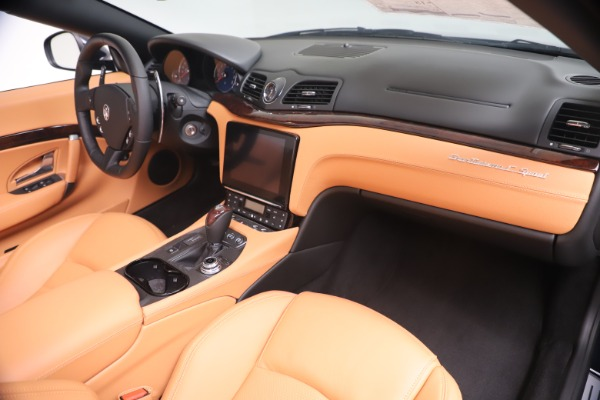 New 2019 Maserati GranTurismo Sport Convertible for sale $172,060 at Pagani of Greenwich in Greenwich CT 06830 26