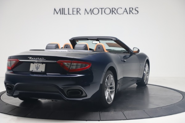 New 2019 Maserati GranTurismo Sport Convertible for sale $172,060 at Pagani of Greenwich in Greenwich CT 06830 7