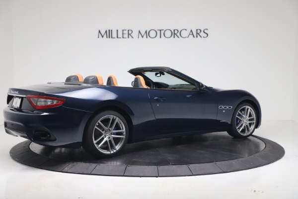 New 2019 Maserati GranTurismo Sport Convertible for sale $172,060 at Pagani of Greenwich in Greenwich CT 06830 8