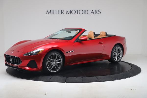 New 2019 Maserati GranTurismo Sport Convertible for sale Sold at Pagani of Greenwich in Greenwich CT 06830 2