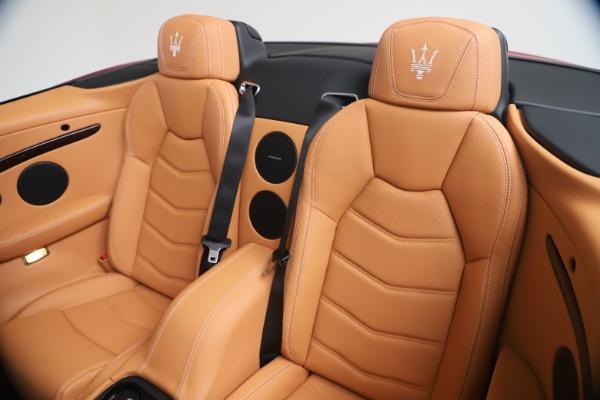 New 2019 Maserati GranTurismo Sport Convertible for sale Sold at Pagani of Greenwich in Greenwich CT 06830 24
