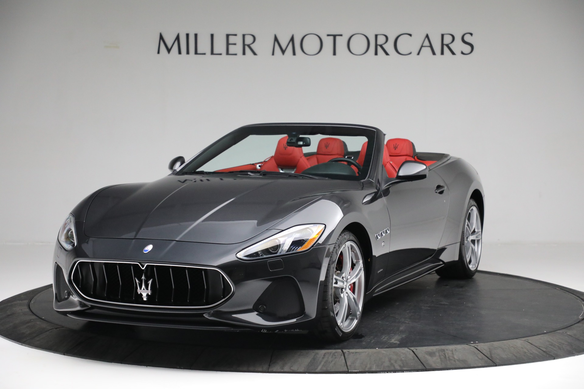 New 2019 Maserati GranTurismo Sport Convertible for sale Sold at Pagani of Greenwich in Greenwich CT 06830 1